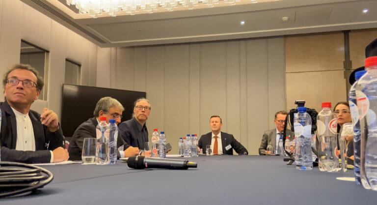 Rapport från ECG-möte i Bryssel